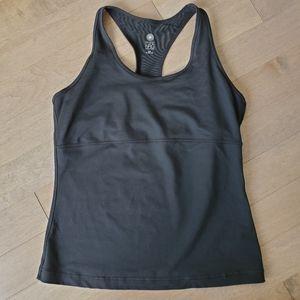 Pure NRG black sports tank top